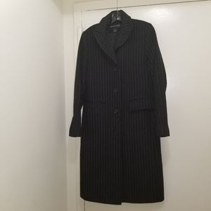 Womens KENNETH COLE black coat size 8